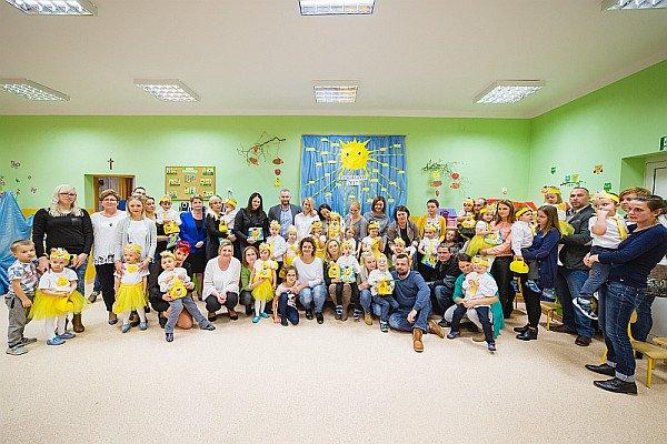 Pasowanie na Przedszkolaka grupy przedszkolnej Słoneczka